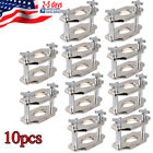 10pcs Dental Reline Jig Single Compress Press Heavy-duty Construction Dental Lab