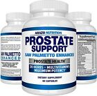 Prostate Supplement Saw Palmetto 30 Herbs Reduce Frequent Urination and amp;