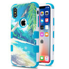 For iPhone X IMPACT TUFF HYBRID Protector Case Skin Phone Cover Accessory