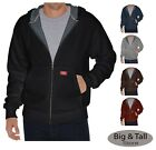 Dickies Big & Tall Thermal-Lined Hooded Zip Fleece Jacket 2XL - 5XL 2XLT 3XLT