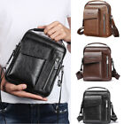 CA Trendy Men Fashion Crossbody Bags Small Casual Hand Bag PU Leather Male Bags image