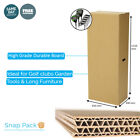 5 x GOLF CARDBOARD CARRY REMOVALIST BOX TALL BOY STORAGE  PACKING BOX