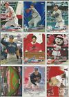 2018 TOPPS OPENING DAY BASEBALL BASE & INSERTS Singles U Pick lot Card Build Set