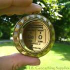 """GeO - The Chemistry of Christmas SPINNING Geomedal Geocoin (2.25"""")"""
