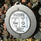 "GeO - The Chemistry of Christmas SPINNING Geomedal Geocoin (2.25"")"