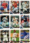 2018 Bowman Baseball Base Chrome Prospects Inserts Pick Card Build Set lot MLB