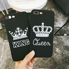 For iPhone X XS 6 7 8 8Plus Popular Creative Simple Couple King Soft Cheap Case