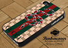 New Gucci56 Snake iPhone 5s 6 7 8 X iPod Samsung Galaxy Note Edge Plus Case
