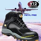 V12 Track Safety Boots Metal Free Composite Toe Cap Trainer Sports Boots VS360
