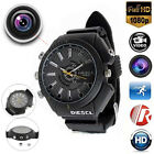 SPY Waterproof Wrist Watch 32GB Camcorder HD 1080P Night Vision Hidden Cam DVR
