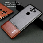 Imak For Nokia 8 Sirocco, Luxury Shockproof Classic Business Leather Case Cover