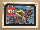 1991 Topps Wacky Packages Sticker Card PEGO Building Set #22 LEGO Building Set