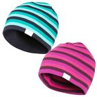 Trespass Kezia Womens Beanie Hat Reversible in Blue and Pink