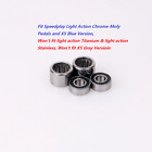 J&L Ceramic Bearings Kit Fit SpeedPlay Zero,Light Action,X1,X2,X5&SYZR
