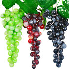 1 Artificial Fruit Grape Fake Food Plastic Lifelike Grape Home Wedding Xmas Deco