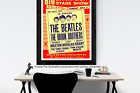 Reproduction Beatles Concert Poster Prints UNFRAMED A1 SIZE A2 SIZE SATIN MATTE
