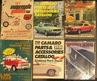 6 RARE MOTORCYCLE & AUTO PART ACCESSORY CATALOGS MUSTANG CAMARO CHEVY FINAL SALE