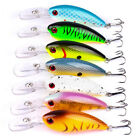 1Pcs Fishing Lures Kinds Of Minnow Fish Bass Tackle Hooks Baits Crankbait  Lot