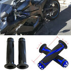 "Motorcycle 7/8"" Handlebar Hand Grips For Kawasaki Ninja ZX14R/10R/6R Z1000 ER6N $9.3 USD on eBay"