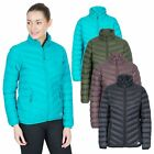 Trespass Valentina Womens Down Jacket Lightweight & Warm in Green & Black