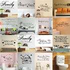 New Wall Stickers Interior Decal Transfer Home Art Vinyl Decor Quote Sticker Uk