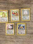 Pokemon crds Colorless Eevee Kangaskhan Light Dragonite Clefairy Chansey