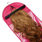 Внешний вид - Hair Extensions Wigs Storage Bag Holder Case Dustproof Protector Hanger Red FL