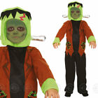 BOYS FRANKENSTEIN MONSTER FANCY DRESS HALLOWEEN COSTUME ZOMBIE OUTFIT CHILDS