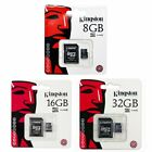 Kingston 8GB 16GB 32GB MicroSD Micro SD Class 4 C4 Karte Card SPEICHERKARTE SEP