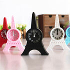 Eiffel Tower Tabletop Alarm Clocks Standing Clock Home Office Decor Gift tall