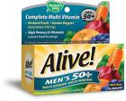 Nature's Way Alive!® Men's 50+ Energy Multivitamin Tablets, Fruit and Veggie...