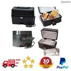 12-Volt Portable Stove Black Handy Warms Heat Pre-Cooked Foods Stews Beans Chops