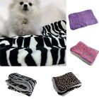 Winter Warm Soft Pet Small Large Dogs Cats Bed Blanket Puppy Sleep Mat Cushion