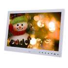 15 Inch HD Screen Digital Photo Picture Frame Clock Alarm Music Movie Player