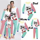 Внешний вид - Christmas Family Matching Santa Pajamas Set Adult Kid Girl Sleepwear Nightwear