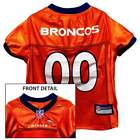 DENVER BRONCOS Dog Jersey * XS-XL * NFL Football Team Pet Gear *FREE SHIPPING!! $14.99 USD on eBay