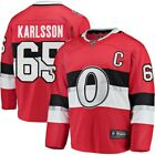 Mens Fanatics Erik Karlsson Red Ottawa Senators 2017 NHL 100 Classic Jersey