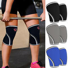 CFR Pair 7mm  Weight Lifting Knee Sleeves Support Crossfit Patella Wrap Brace HT