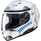 HJC CS-R3 Star Wars Stormtrooper Mens Street Road Riding Motorcycle Helmets $202.21 CAD on eBay