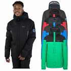 DLX Hayes Mens DLX Insulated Stretch Ski Jacket in Blue Black Red & Green