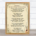 The Beatles She Came In Through The Bathroom Window Song Lyric Quote Print