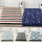 Removeble Mattress Protector Bedspread Tatami Floor Mat Cover With Zipper image