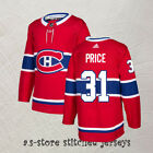 Montreal Canadiens Red Hockey Jersey Men All Sewn 31 Carey Price M 3XL