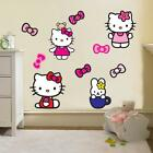 Home Decorating Paintings Hello Kitty Wall Sticker Decal Decor Art Mural Nursery Children Kids Room WC146 Modern Home Decor Ideas