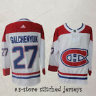 Montreal Canadiens Sewn Alex Galchenyuk 27 Canadiens White M 3XL Hockey Jersey
