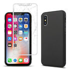 Black TPU Case for iPhone 7 8 Plus Soft Back Cover for iPhone 6 Plus X XS Case