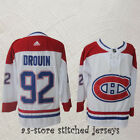 92 Montreal Canadiens Hockey Jersey Jonathan Drouin Canadiens White All Sewn