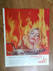 1961 Cutex Liptstick & Nail Polish Ad Aladdin's Fire Your Every Wish is Granted