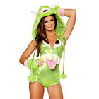 "NEW-J. Valentine ""One Eyed Monster"" Costume 1 PC GREEN Sizes S, M, L- SALE"