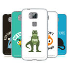 OFFICIAL DAVID OLENICK ANIMALS SOFT GEL CASE FOR HUAWEI PHONES 2